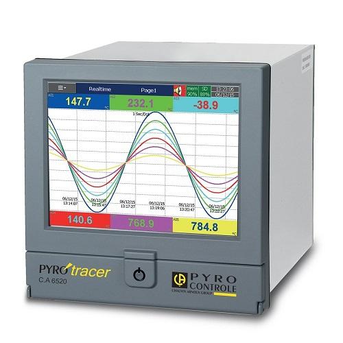 L'enregistreur de données Enerdis C.A 6500